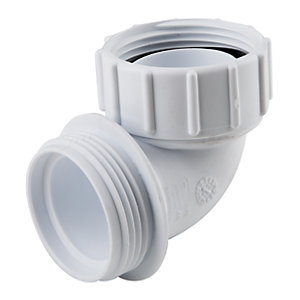 Osma HepVO BV11 Waterless Waste Knuckle Adaptor White - 32mm