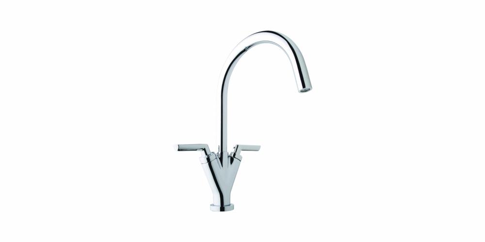 Wickes Siena Monobloc Kitchen Sink Mixer Tap - Chrome