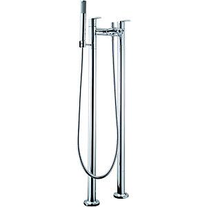Wickes Versaille Floorstanding Bath Shower Mixer Tap - Chrome