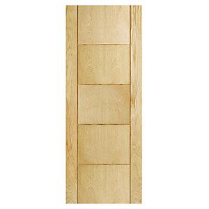 Wickes Thame Oak Veneer Ladder Internal Door - 1981 x 686mm