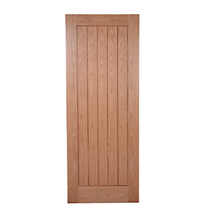 Wickes Geneva Oak Cottage Pre Finished Internal Door - 1981mm