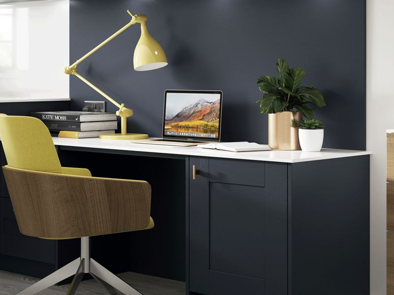 The benefits of a<br>home workspace