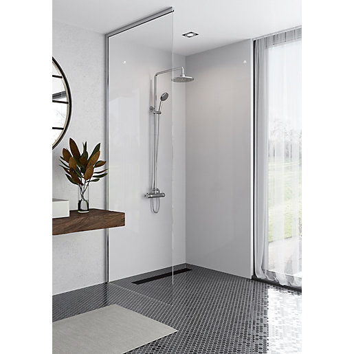 Mermaid Elite Artico 2 Sided Shower Panel Kit