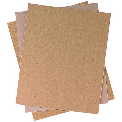 Wickes General Purpose Sandpaper Assorted - Pack of