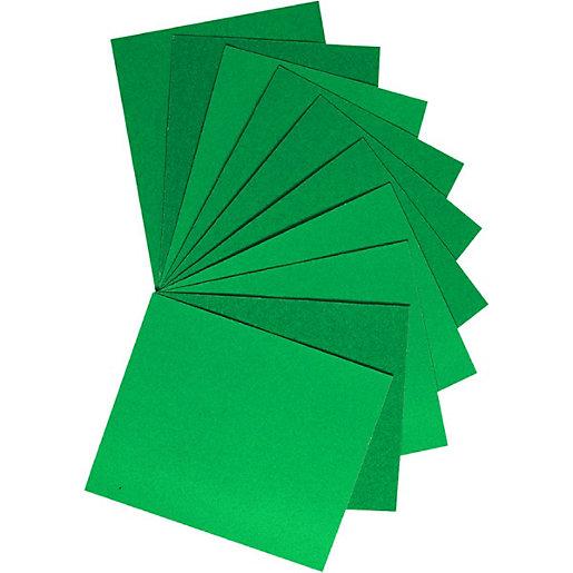 Wickes Premium Grade Aluminium Oxide Sandpaper Assorted Sheets