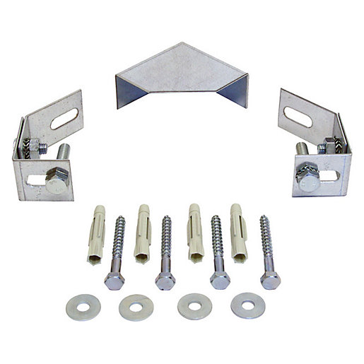 Abacus Corner Frame Installation Bracket Set For 820mm,