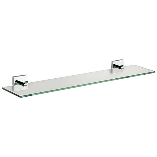 Croydex Chester Flexi-Fix Glass Shelf