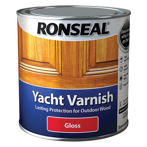 Ronseal Exterior Yacht Varnish Gloss - 1L