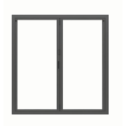JCI Aluminium Bi-Fold Door Set Grey Right Opening
