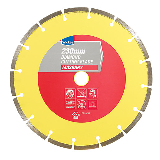 Wickes Diamond Angle Grinder Cutting Disc - 230mm