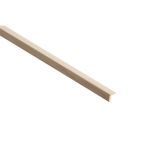 Wickes Pine Reed Angle Moulding - 27mm x