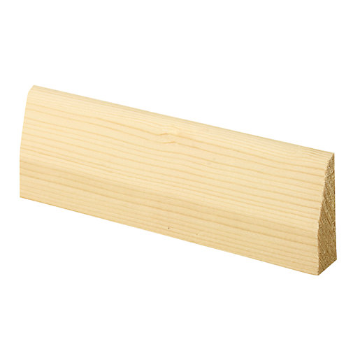 Wickes Chamfered Pine Architrave - 15mm x 45mm