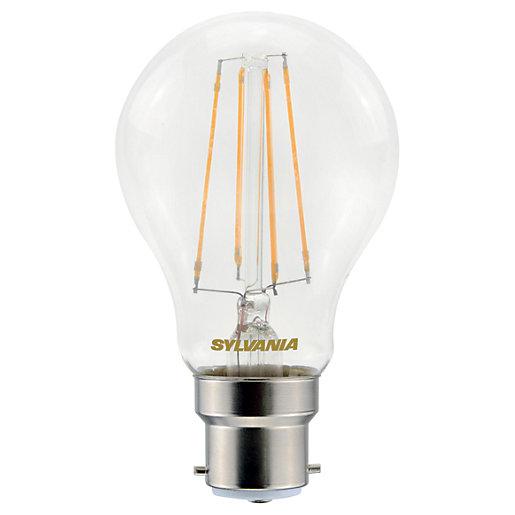 Sylvania LED Filament B22 GLS Bulb - 7W