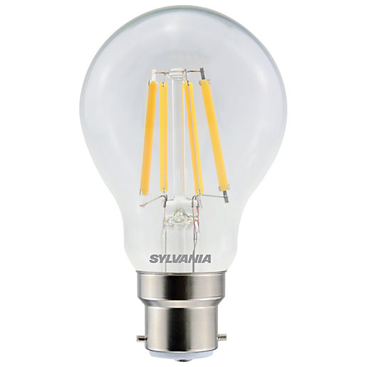 Sylvania LED GLS Clear Filament Dimmable Warm White