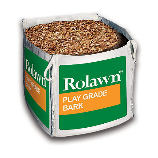 Rolawn Play Grade Bark Bulk Bag - 730L