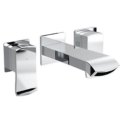 Bristan Descent Wall Mounted Chrome Bath Filler Tap