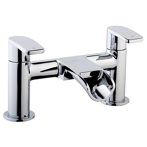 Wickes Niagra Bath Filler Tap - Chrome