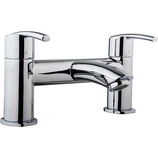 Wickes Versaille Bath Mixer Tap - Chrome