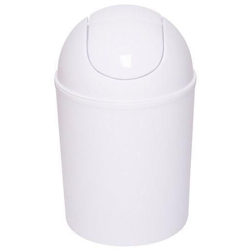 Croydex 3 Litre White Plastic Swing Bin -