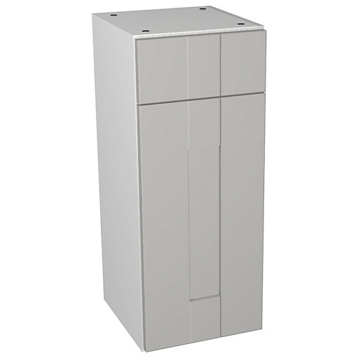 Wickes Vermont Grey Drawerline Storage Unit - 300