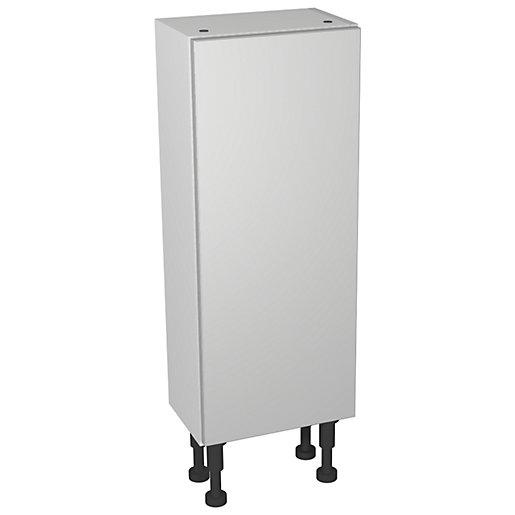 Wickes Vienna Grey Gloss Compact Floorstanding or Wall