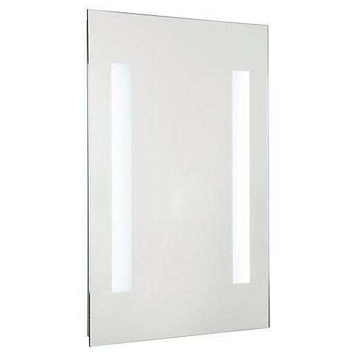 Croydex Malham Battery Operated LED Bathroom Mirror