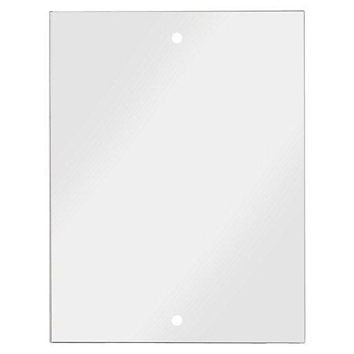Croydex Small Basic Bathroom Mirror - Silver