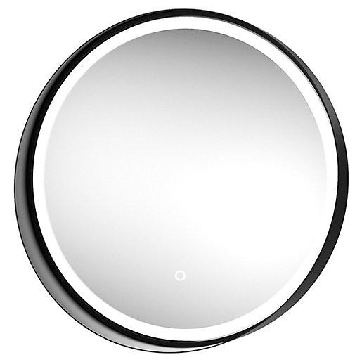 Wickes Byron Colour Changing Matt Black Round LED