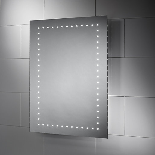 Wickes Dakota LED Bathroom Mirror - 600mm