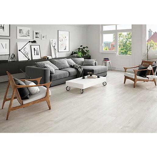 Wickes Maine Light Grey Wood Effect, Maine Wood Flooring