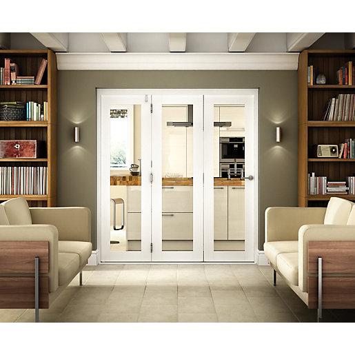 Wickes Belgrave White Fully Glazed Hardwood 1 Lite