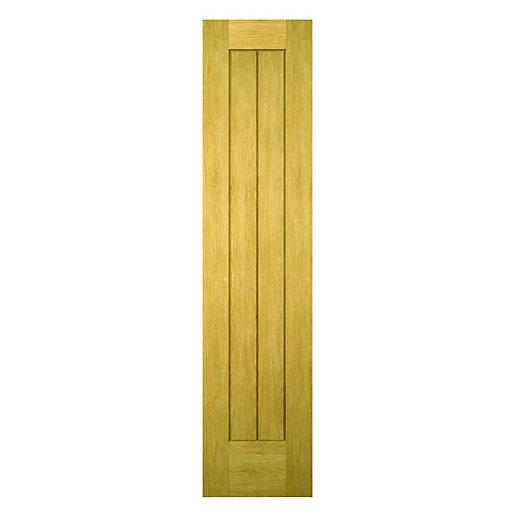 Wickes Geneva Oak Cottage Internal Cupboard Door -