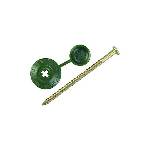 Onduline Profile Sheeting Nails 70mm Green - Pack