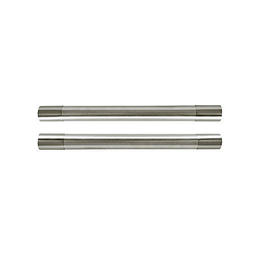 Wickes Key Hole Bar Door Handle - Brushed