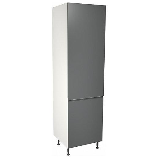 Camden Carbon 70:30 Fridge Freezer Tower Unit -