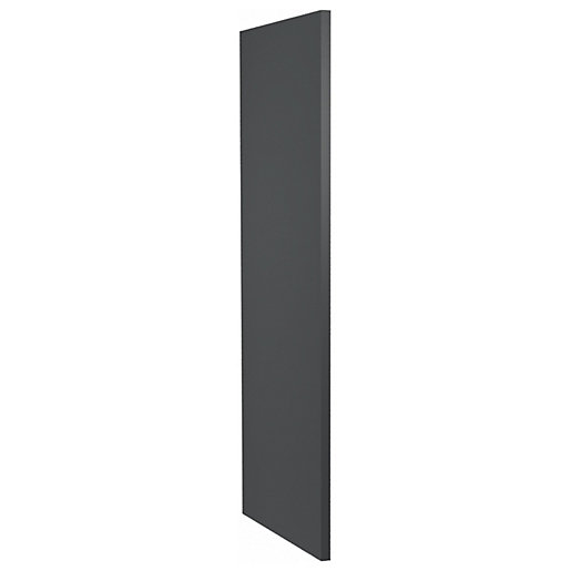 Camden Carbon Decor Wall End Panel - 18mm
