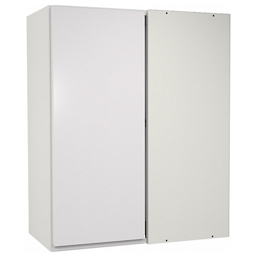 Camden White Corner Wall Unit - 625mm