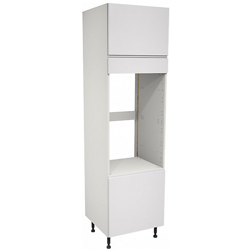 Camden White Double Oven Tower Unit - 600mm