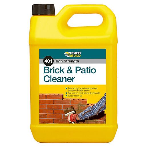 Everbuild 401 Brick & Patio Cleaner - 5L
