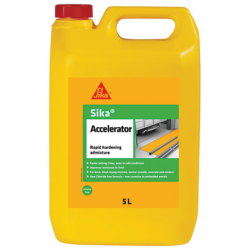 Sika Accelerator Rapid Hardening Admixture - 5L