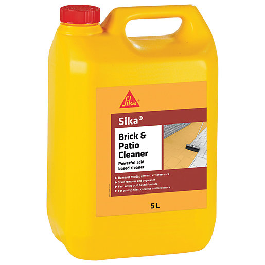 Sika Brick and Patio Acid Based Cleaner -