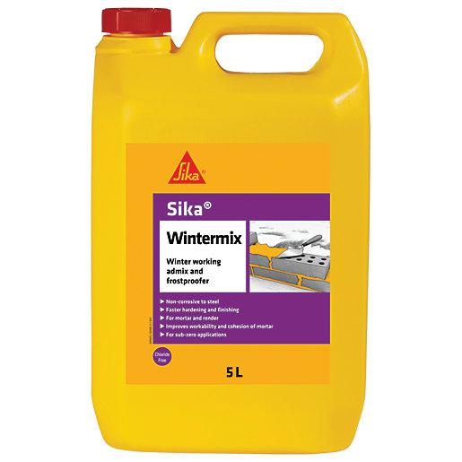 Sika Wintermix Chloride Free Admix & Frostproofer -