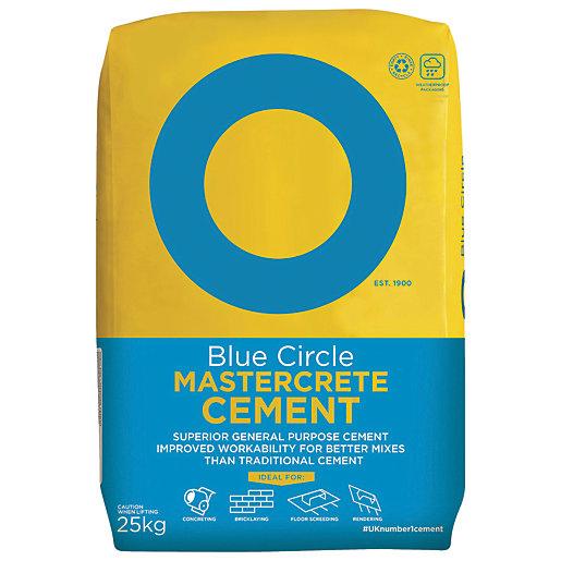 Blue Circle Mastercrete Cement - 25kg