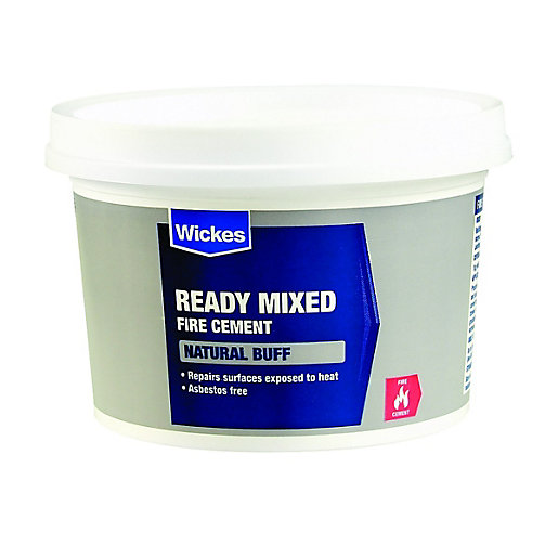 Wickes Ready Mixed Fire Cement - 1kg