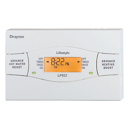Drayton LP822 Universal Heating & Hot Water Programmer