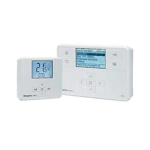 Drayton MiTime Wireless Room Thermostat & Timeswitch