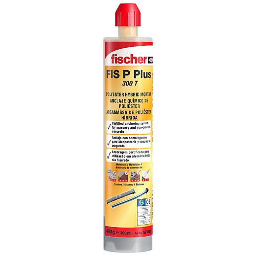 Fischer Polyester Plus Resin 300ml