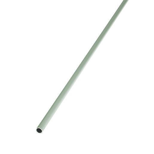 Wickes 12mm Multi-Purpose Round Tube - Aluminium 2m