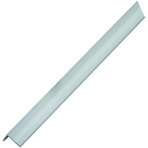 Wickes Multi-Purpose Angle - Aluminium 19.5 x 19.5mm