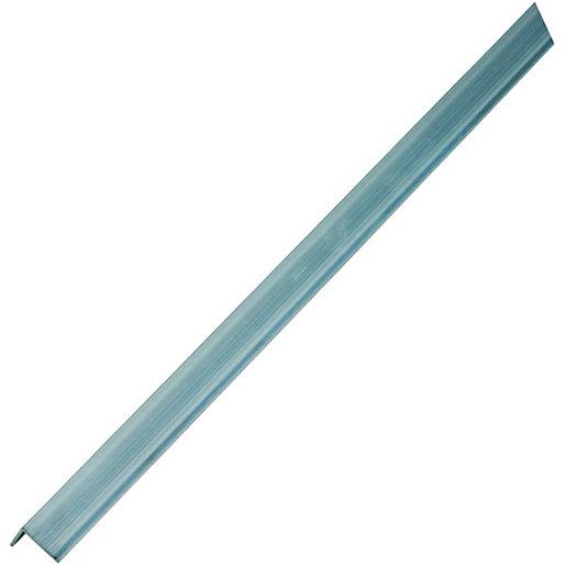 Wickes Multi-Purpose Angle - Aluminium 23.5 x 23.5mm